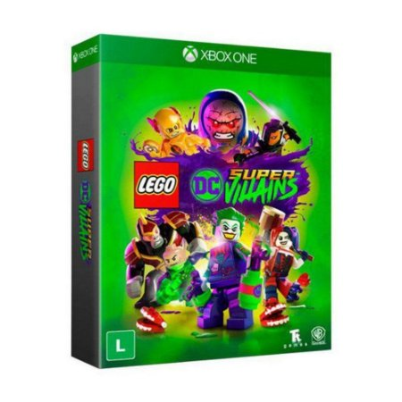 Game Xbox One Lego Dc Super Vil Ed. Especial