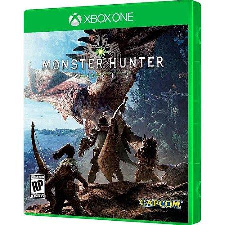 Game Xbox One Monster Hunter World