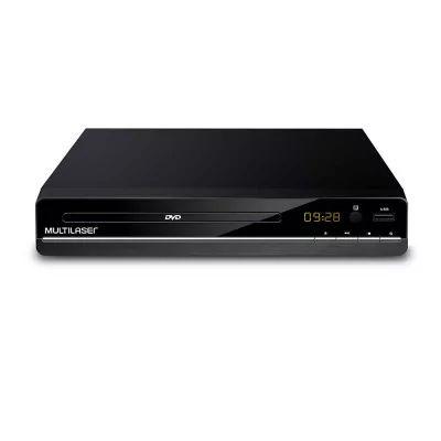 DVD Multilaser SP252 Preto