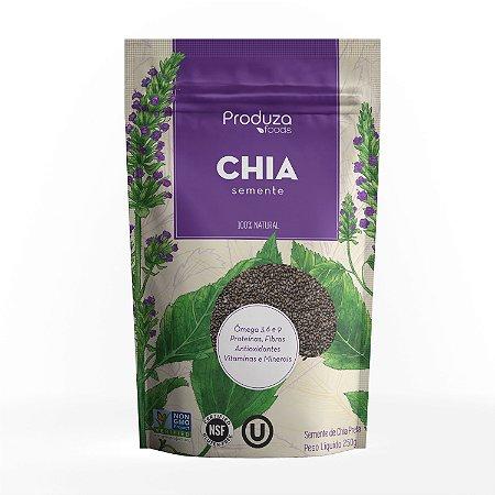 CHIA PRETA PREMIUM - Pacote 250g