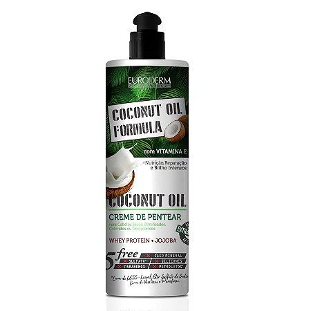 Creme de Pentear Coconut Euroderm 470g
