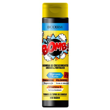 Shampoo BOMB! Crescimento Euroderm 300ml