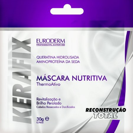 Sachet Máscara Euroderm Nutritiva Kerafix 30g