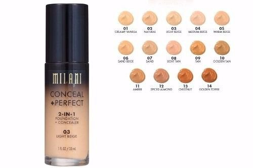 Base Conceal + Perfect 2 em 1 - Milani