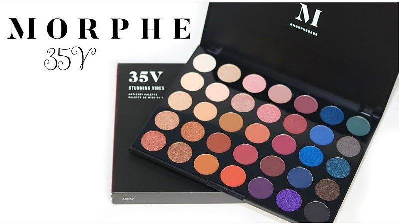 Paleta de Sombras 35V - Morphe