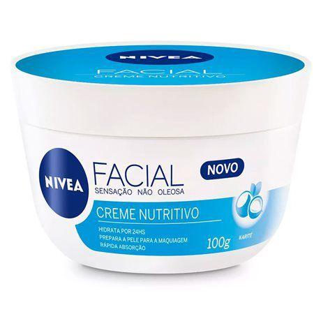 Nivea Facial Creme Nutritivo 100g - Nivea