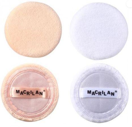 Esponja para Maquiagem com 2 unidades  - Macrilan