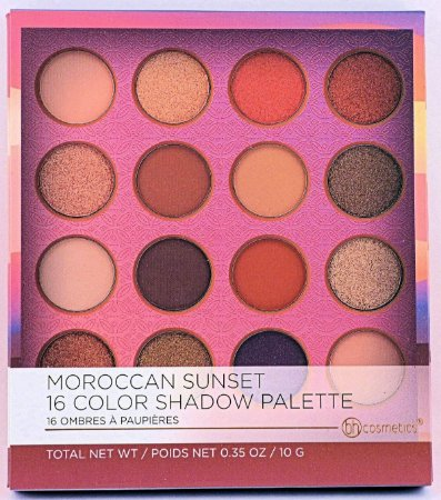 Paleta Moroccan Sunset 6 Color Shadon - BH Cosmetics