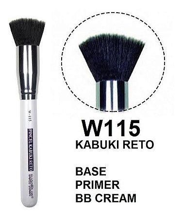 Pincel Macrilan Linha white kabuki - W115