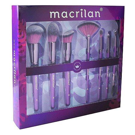 Kit de Pincéis Violet- Macrilan
