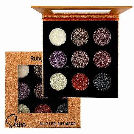 Paleta De Glitter Cremoso Shine - Ruby Rose