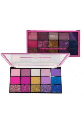 Paleta De Sombra Beauty - Pink 21