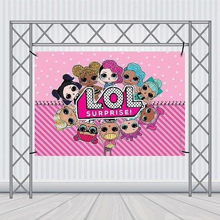 Painéis de Aniversário em Lona 100x200 - Infantil
