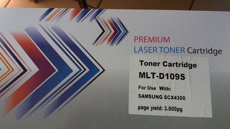 TONER SAMSUNG SCX 4300