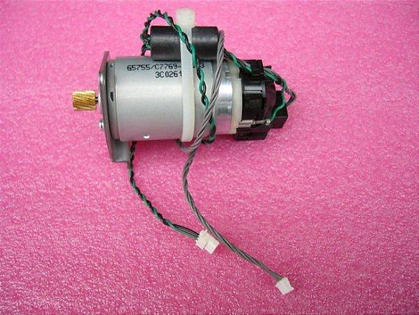Motor Do Papel Hp Designjet 500 / 800 C7769-60377 -USADO-BOM