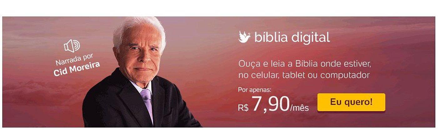 Biblia Sagrada-Na voz de Cid Moreira-Link na Descrição