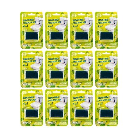 Bloco Sanitário para Caixa Acoplada Cítrico 1x35g Blister (Caixa com 12 unidades)