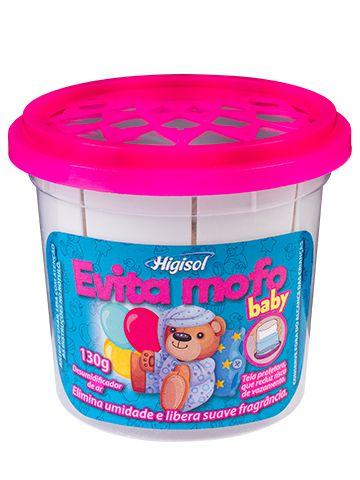 Evita Mofo Higisol 130g Baby 12 unidades