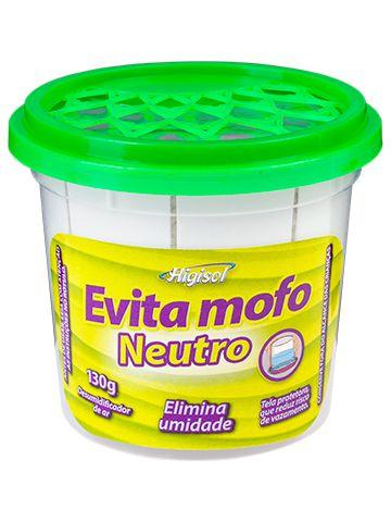 Evita Mofo Higisol 130g Neutro 12 unidades