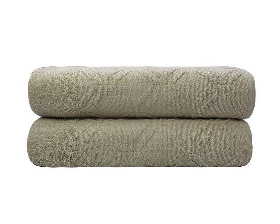 Toalha de Banho Gaya Concreto Camesa 70x140cm 100%algodão