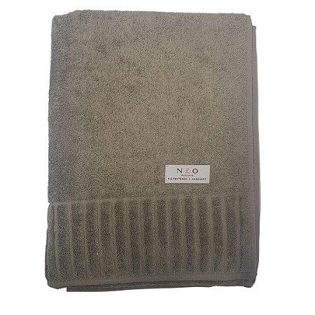 Toalha Banhão Gigante Velour Marrom Camesa 85x150cm 100% algodão