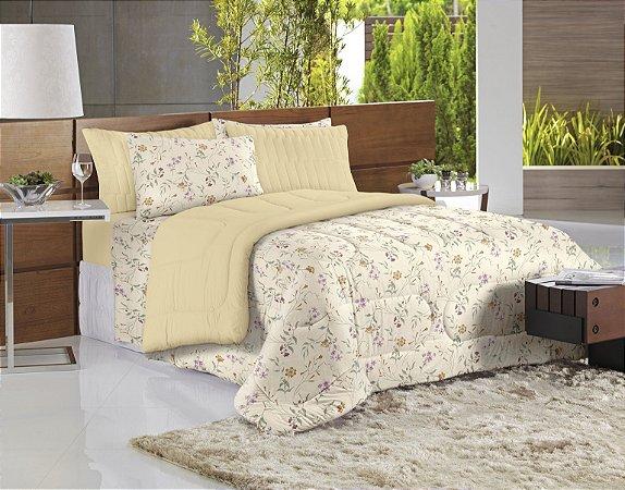 2fdd041a0b Jogo de cama estampa floral botanico - Soul - Comprar cama