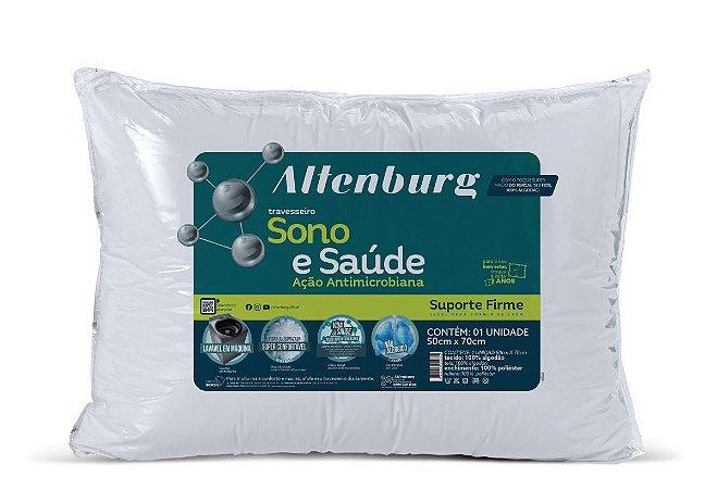 Travesseiro Altenburg Sono e Saúde Suporte Firme 50x70cm