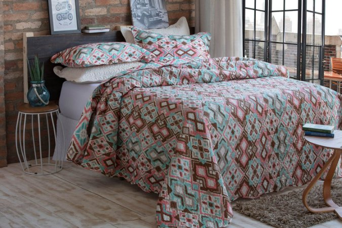 Colcha Matelasse Patchwork Bouti London Chealse 04
