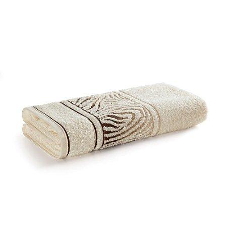 Toalha de Rosto Karsten Animale Bege Ivory 49x70cm
