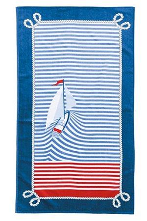 Toalha de Praia Karsten Barcos 76x150cm 100%algodão