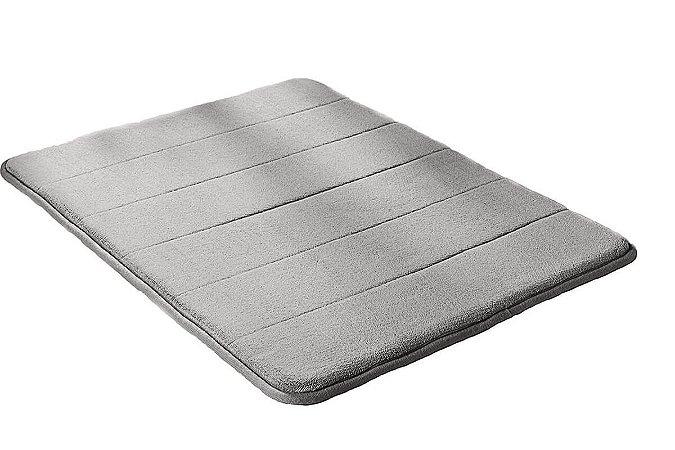 Jogo 2 Tapete para Banheiro Antiderrapante Soft 40 x 60cm Camesa