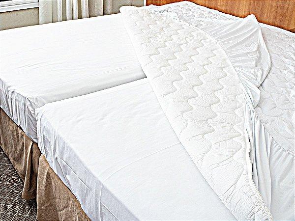 Pillow Top para Colchão Drytop 100x200 Fibrasca com Íons de Prata Anti Bactericida