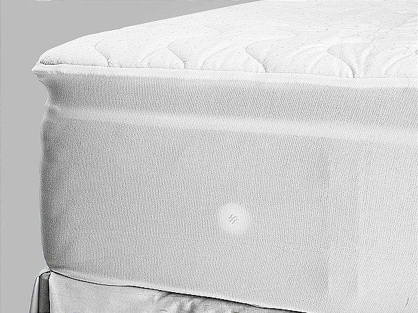 Pillow Top para Colchão Drytop 090x200 Fibrasca com Íons de Prata Anti Bactericida
