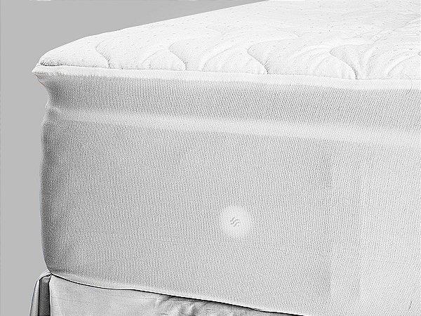 Pillow Top Para Colchão Drytop 193x203 King Fibrasca com Íons de Prata Anti Bactericida