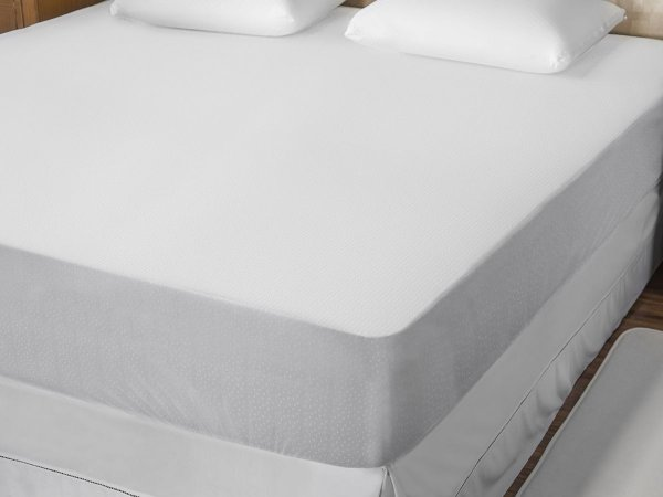 Protetor de Colchão Impermeável Bello Conforto com Slip Casal 140x190 Fibrasca