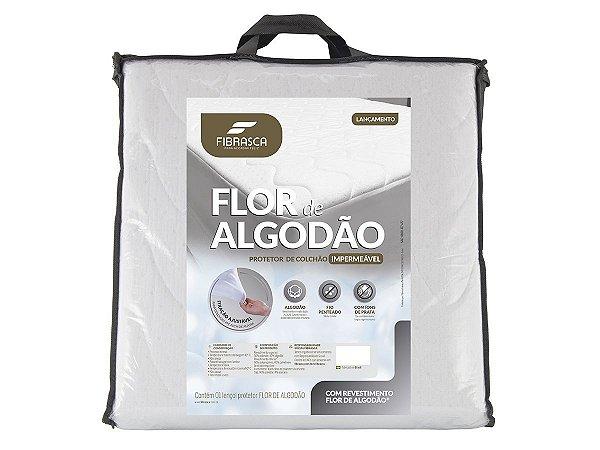 Protetor de Colchão Flor de Algodão Impermeavel 193x203 King Fibrasca