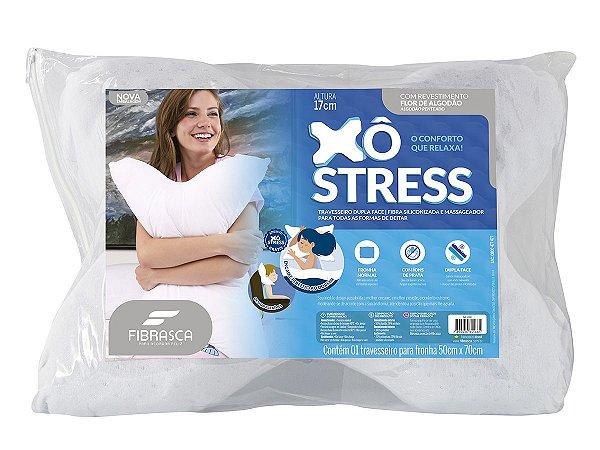 Travesseiro Xo Stress Com Gomos Massageadores Fibrasca 50X70