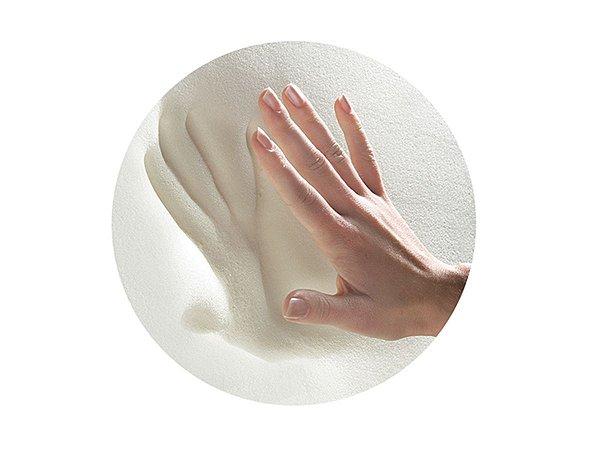 Travesseiro NASA Baby Anti Sufocante 6 meses + p/fronha 30x40 capa removível em percal 180fios Fibrasca