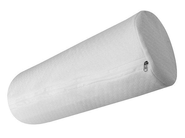 Travesseiro Rolo para Cabeceira de Cama Solteiro 20x85 Fibrasca