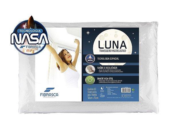 Travesseiro Nasa Alto Visco Luna p/fronhas 50x70 Fibrasca