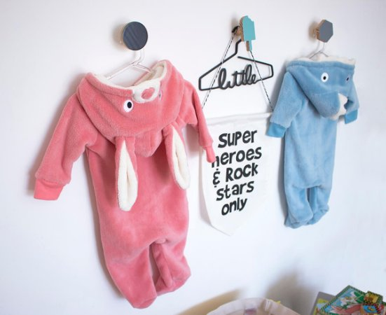 Pijama Fantasia Bebê 0-3 meses Flannel Unissex Camesa