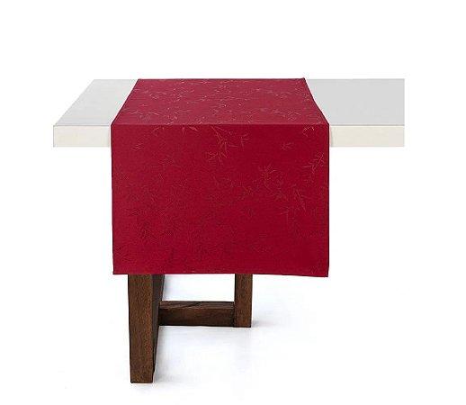 Caminho de Mesa Karsten Verissimo Vermelho Celebration 50x160cm