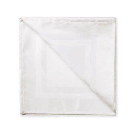 Guardanapo de Tecido Gourmet Branco Karsten 51X51cm