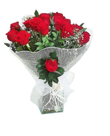 Buquê com 1 dz Rosas