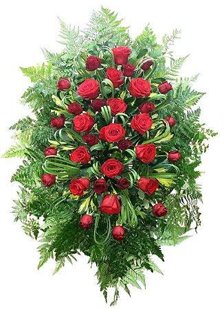 Coroa de Rosas com moreias