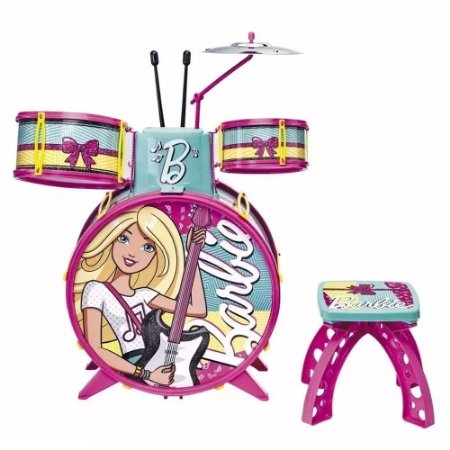 Bateria Infantil Feminina - Barbie