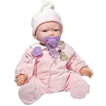 Boneca Interativa Bebê Carinhas - Baby Brink