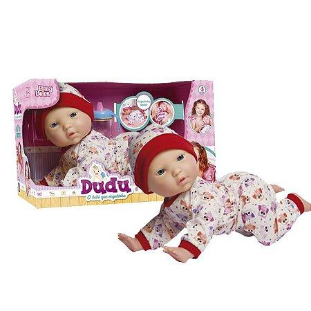 Boneca Dudu o Bebê que Engatinha