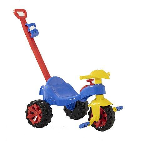 Triciclo Infantil Toy Kids Azul/Rosa - Paramount
