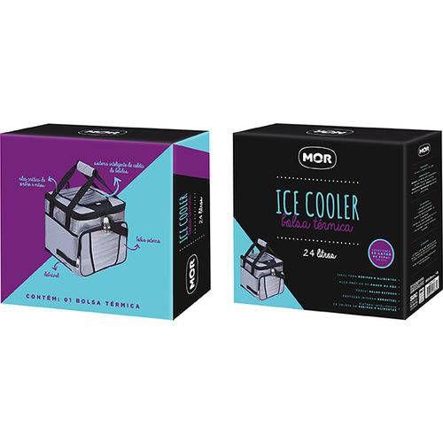 Bolsa Termica Ice Cooler 24 Litros Mor